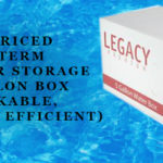 Emergency Preparedness Water Storage - Box Option